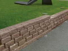 Elemento per muro di contenimento in calcestruzzoMURFLOR - RB BAGATTINI