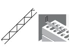 Traliccio in acciaio il rinforzo orizzontale delle muratureMURFOR - RUREGOLD
