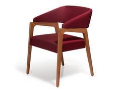 Sedia in tessuto con braccioliMUSA | Sedia con braccioli - BLIFASE