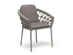 Sedia da giardino con braccioliMUSE | Sedia con braccioli - SNOC OUTDOOR FURNITURE