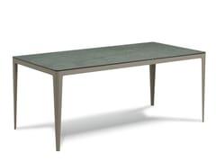 Tavolo da giardino rettangolareMUSE | Tavolo da giardino - SNOC OUTDOOR FURNITURE
