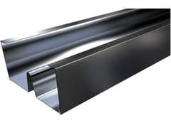 Profilo montante metallico in acciaio MW PLUS C - Orditure