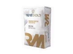 Malta tixotropica fibrata per il ripristino del calcestruzzoMX-R4 - RUREGOLD