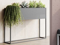 Portavaso in acciaio MY FLOWER - STEELBOX BY METALWAY