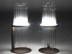 Lampada da tavolo in vetro borosilicato e metalloMY LAMP   Lampada da tavolo - PAOLO CASTELLI