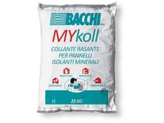Bacchi, MYKOLL Collante/Rasante per applicazione pannelli isolanti B/TERMO