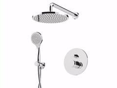 Set doccia incasso monocomando con deviatore e soffione MYRING - FMR0013KB - MyRing