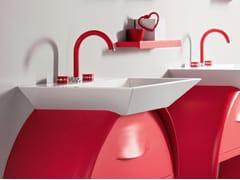 Rubinetto per lavabo a 3 fori da piano MYRING MULTICOLOR - FMR0112A - MyRing