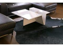 Tavolino in acrilico con portarivisteMAG IMPULSE   Tavolino in acrilico - ZONE ARCHITEKTEN