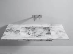 Top lavabo in marmoTop Marmo - REXA DESIGN