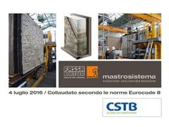 Sistema per isolamento a cappotto e pietra ricostruitaMASTROSISTEMA - GEOPIETRA®
