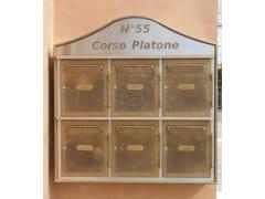 Cassetta postale a muro in metalloCassetta postale 1 - GARDEN HOUSE LAZZERINI