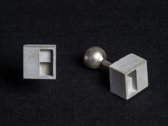 Gemelli in calcestruzzoMicro Concrete Cufflinks #1 - MATERIAL IMMATERIAL STUDIO