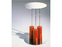 Tavolino rotondo in vetro a specchio Mobile 5-A - Ettore Sottsass Limited Edition