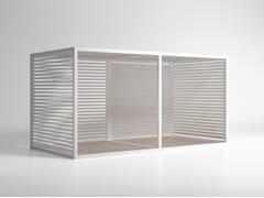 Frangisole orientabile in alluminioSerramento Alluminio Mobile - GANDIA BLASCO