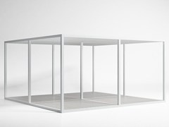 GANDIA BLASCO, Tetto Alluminio Mobile e Pavimento Pergolato autoportante in alluminio a lamelle orientabili
