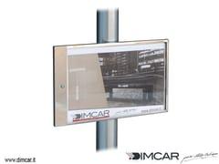 Bacheca in acciaio inoxTabella Modena Inox - DIMCAR