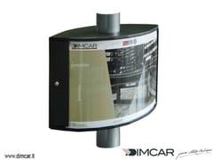 Bacheca bifacciale in acciaio inoxTabella Modena Double - DIMCAR