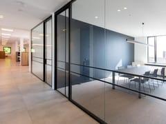 Parete mobile in vetro per ufficioPareti divisorie modulari per ufficio - AVC GEMINO