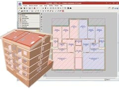 Viewer e convertitore file dwg dxf / Software integrato CAD impianti MODULO DISEGNO IFC Builder -