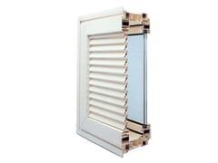 Ital-Plastick, Monoblocco con persiana Finestra con scuri integrati in PVC