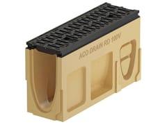 Elemento d'ispezione in calcestruzzo polimericoMonoblock RD100 V - Elemento d'ispezione - ACO PASSAVANT