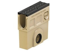 ACO PASSAVANT, Monoblock PD100 V - Pozzetto di scarico Pozzetto di scarico in calcestruzzo polimerico