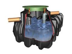 Sistema di recupero acqua piovanaPacchetto montaggio 1 - OTTO GRAF