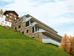 Rivestimento di facciata in pietra ricostruita GARDENA P24 - Profilo OPERA INCERTA