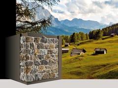 Rivestimento di facciata in pietra ricostruita MASO P83 - Profilo OPERA INCERTA