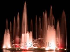 CASCADE, Fontane musicali e danzanti Componenti ed accessori per fontane musicali