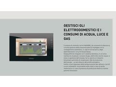 Sistema domoticoGESTIONE ENERGIA MyHOME_Up - BTICINO