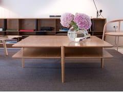 Tavolino quadrato in legnoNÍVEL | Tavolino quadrato - BRANCA LISBOA