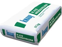 Knauf Italia, N 410 MICROLIVELLINA Malta secca premiscelata pronta all'uso