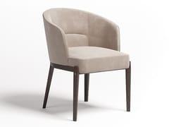 Sedia in velluto con braccioliN°5 | Sedia - PAOLO CASTELLI
