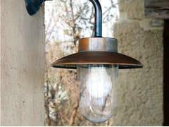 Lampada da parete per esterno a luce diretta e indiretta in metalloNABUCCO | Lampada da parete per esterno in metallo - ALDO BERNARDI