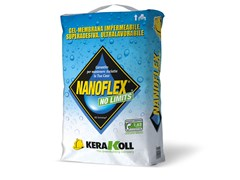 Kerakoll, NANOFLEX NO LIMITS Gel-membrana impermeabile
