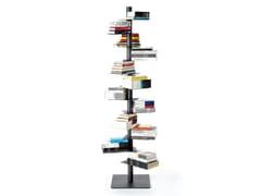 Libreria a giorno autoportante bifacciale in lamieraNARDO - BBB