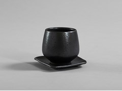 Tazza da caffè in ceramica con piattinoNATIVE | Tazza con piattino - 101 COPENHAGEN