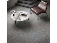 Lastra in gres porcellanato a massa colorata NATIVE Fog - ABK GROUP INDUSTRIE CERAMICHE