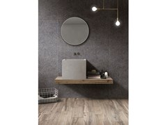 Lastra in gres porcellanato a massa colorata NATIVE Mark Ebony - ABK GROUP INDUSTRIE CERAMICHE