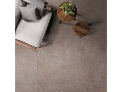 Lastra in gres porcellanato a massa colorata NATIVE Red - ABK GROUP INDUSTRIE CERAMICHE
