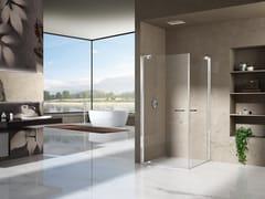 Box doccia angolare con porta pivotanteNATURA 4000 - A-EDT L/R - DUKA