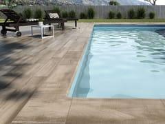 Pavimento in gres porcellanato effetto legnoNATURA ETNA - EXAGRES