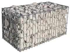 GRANULATI ZANDOBBIO, NATURAL STONE BOX Gabbione e rete per difesa fluviale, montana e marina in rete elettrosaldata
