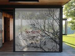 Tessuto autoadesivo trasparente per la copertura di finestreNATURE - ACTE DECO