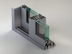 METRA, NC-S 170 STH HES Porta-finestra scorrevole in alluminio con triplo vetro