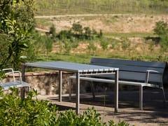 URBIDERMIS, NEOROMÁNTICO | Tavolo per spazi pubblici in alluminio  Tavolo per spazi pubblici in alluminio