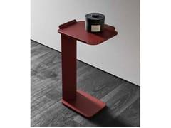Tavolino di servizio laccato in metalloNEROLAB | Tavolino - CERASA