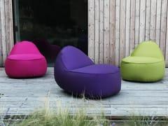 Poltrona da giardino imbottita in tessutoNEST | Poltrona da giardino - GART ART & DESIGN GROUP